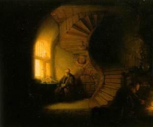 Rembrandt, Méditation