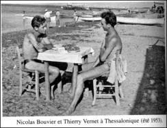 Nicolas Bouvier, Thierry Vernet